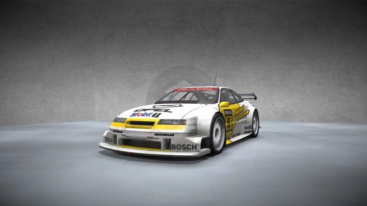 Opel Calibra DTM 3D Model
