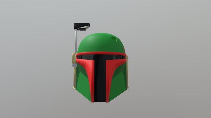 Boba fett Helmet test 3D Model