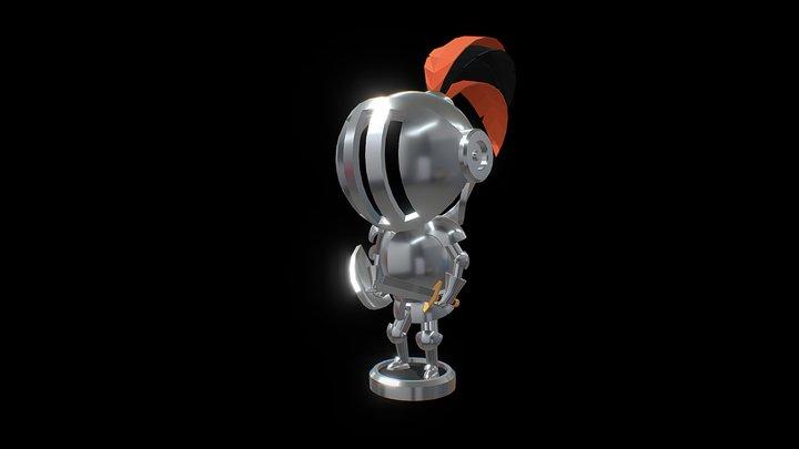 Domingos the Knight 3D Model