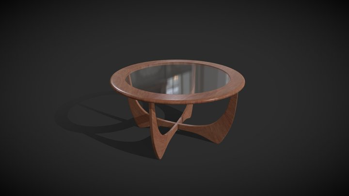Coffee Table (Astro) 3D Model