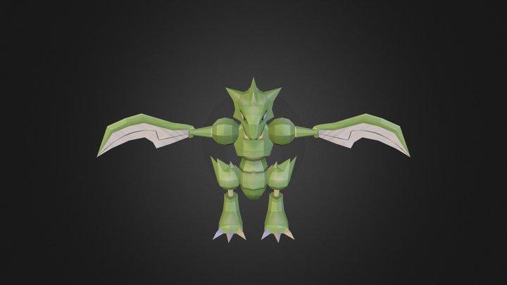 Scyther 3D Model