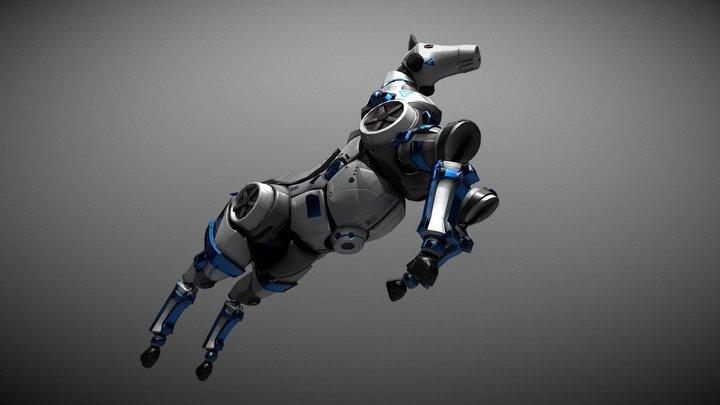Folder Assignment 1 - Robot hard surface 3D Model