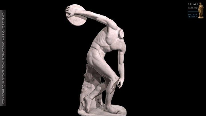 Discobolos of Castelporziano 3D Model