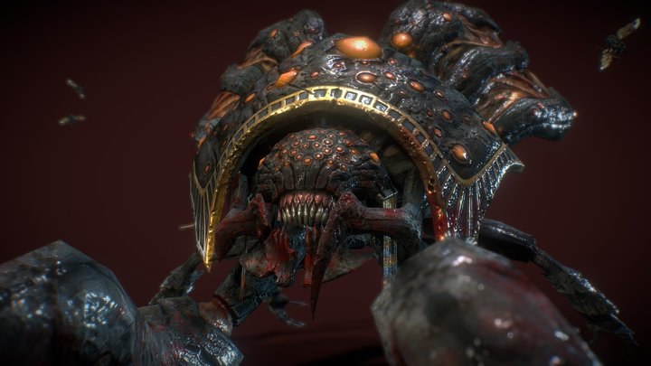 Egypt Boss scarab King - Gunpie Adventure 3D Model