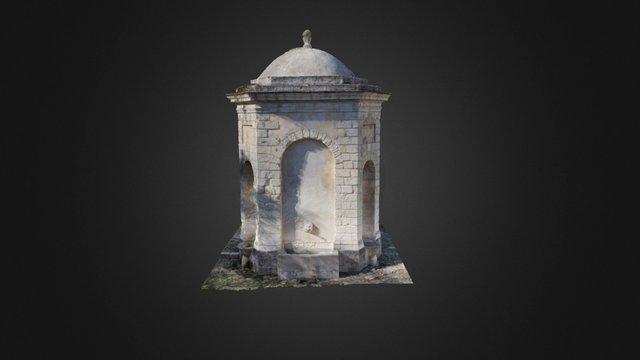 "Fontana monumentale ""Su Cantaru"", Bonnanaro (SS) 3D Model"