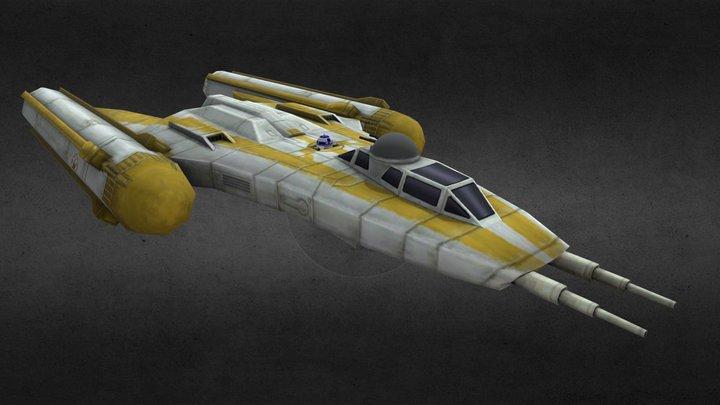 Republic Y- Wing 3D Model