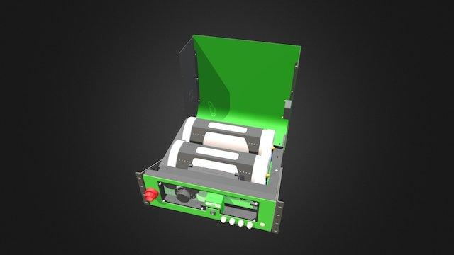 EX1500 MAIN ASSEMBLY 3D Model