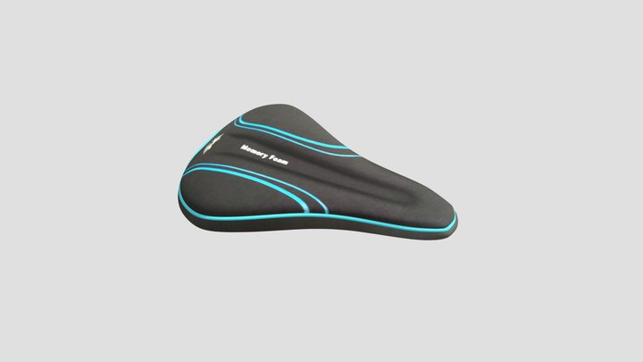 Xwing Bike Seat Cover 3D Model