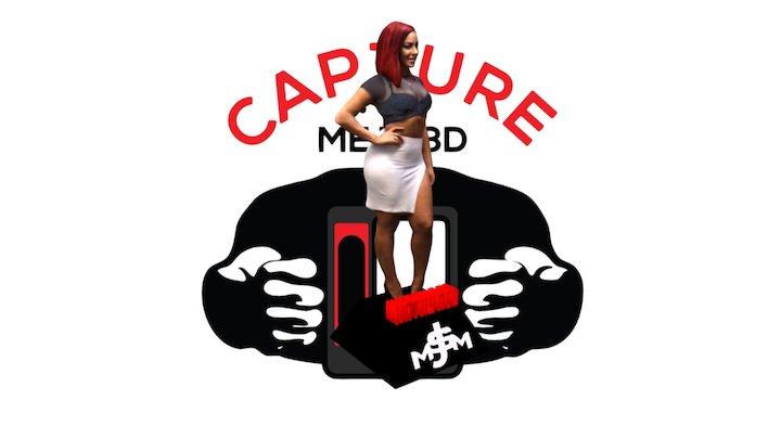 KATHY RED Cover Girl Straight Stuntin Magazine 3D Model