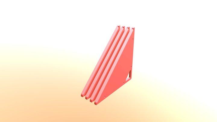 Prism P7 - 4 Dock Floor Plates 3D Model