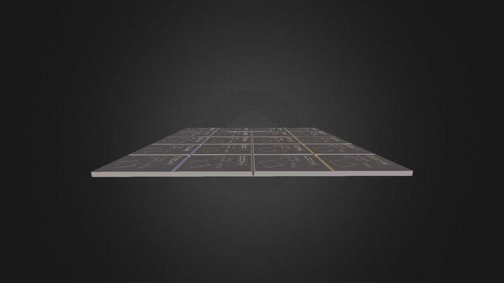 Test 3 front 3D Model