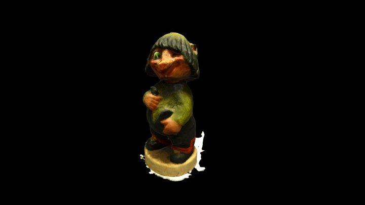 Norwegian Troll 2 3D Model