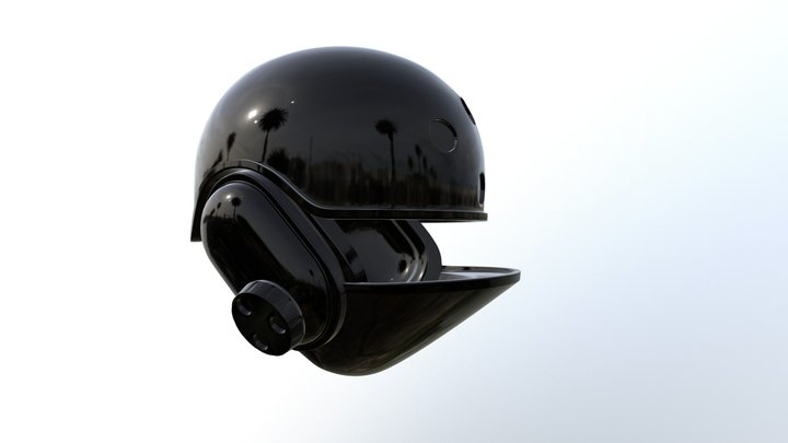Star Wars - Imperial Ground Crew Helmet 3D Model