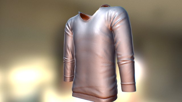 SculptJanuary#27 Clothing 3D Model