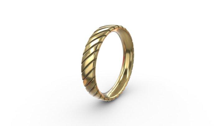 Scratch Comfort Ring 3D Model