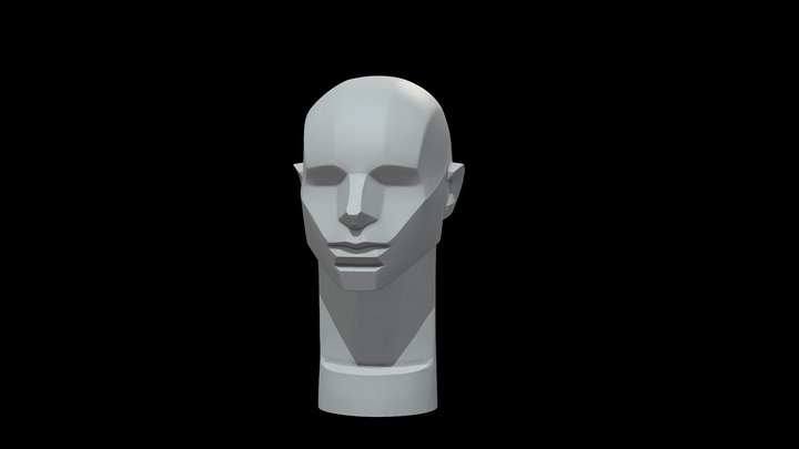 Memorized Head - John Asaro 3D Model