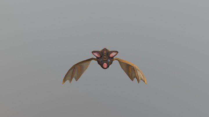 Fat Bat 3D Model