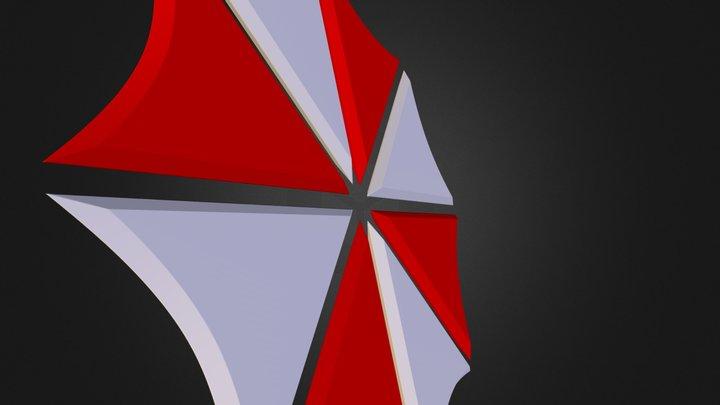 Umbrella Logo 3D Model