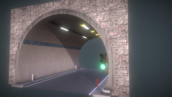 Strada Tunnel 3D Model