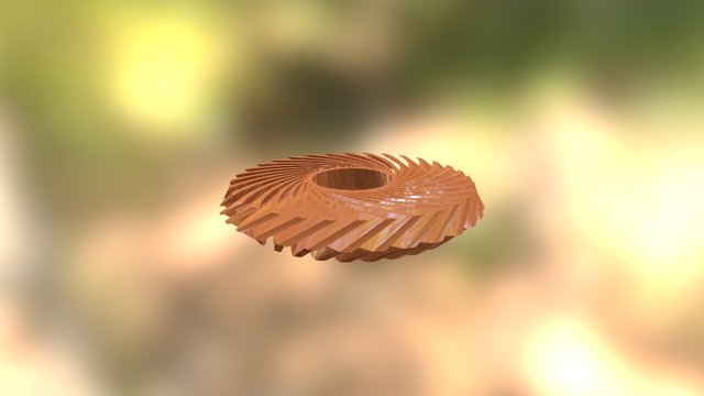 Repulsine Main Diffusor Mold To Cut 3D Model