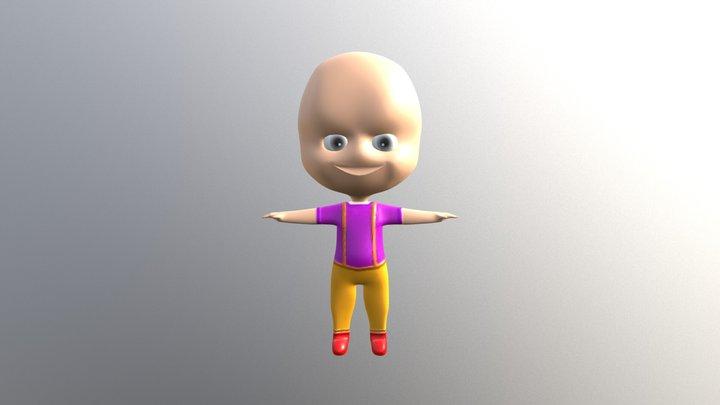 Bob The Baby 3D Model