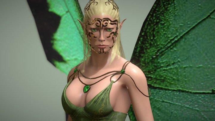 elora 3D Model
