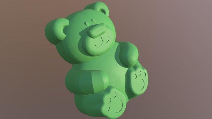 Gummy Bear v2 3D Model