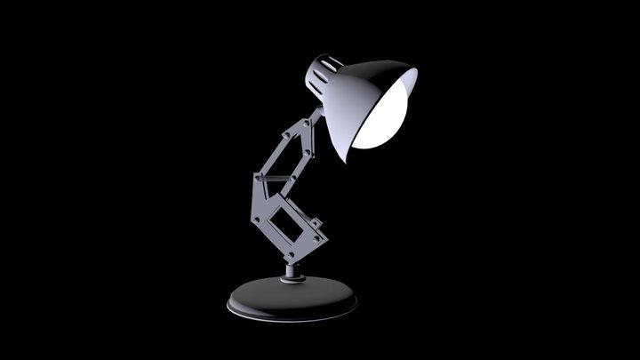 Pixar Desk Lamp 3D Model