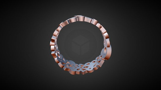 Ring For 3d Printing Revised 3D Model