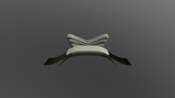 Couch No. 53 3D Model