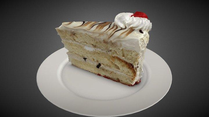 Marble Cake 3D Model