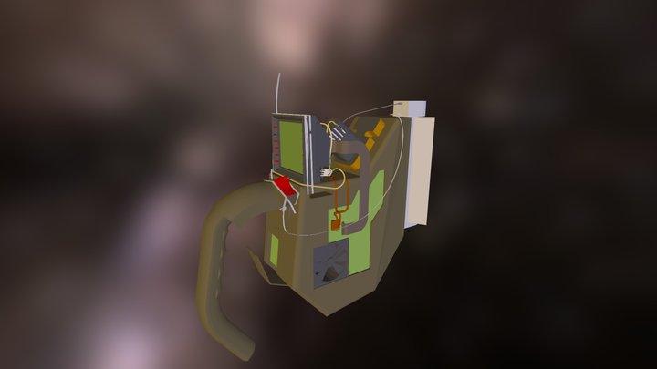 Alien Scaner 3D Model