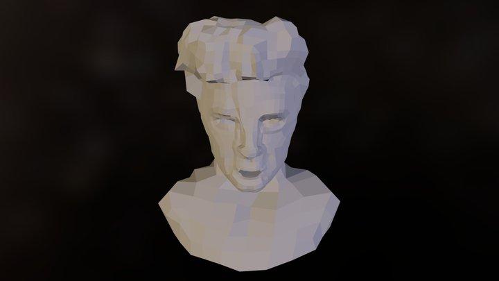 Zac Efron Checkered 3D Model