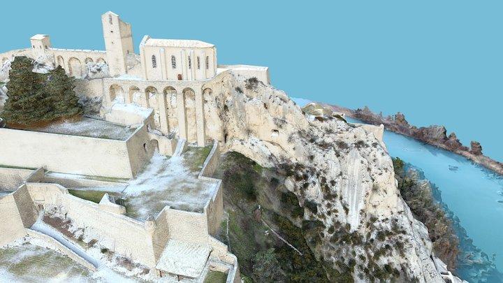 DRAFT Sisteron 3D Model