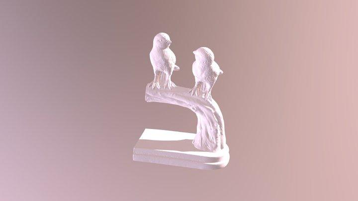 Bird Bookend 3D Model
