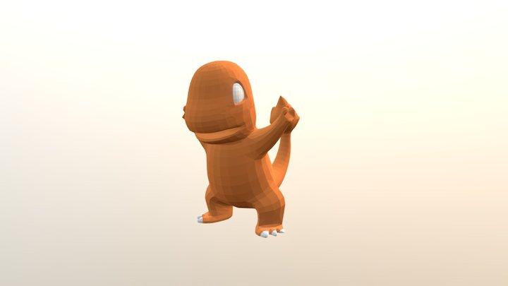 Charmander 3D Model