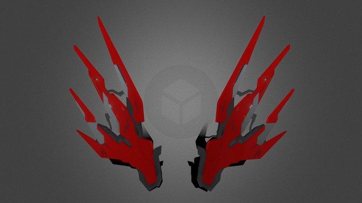 Mechanical Wings 2 3D Model