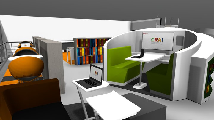 CRAI Nivel 3 / Sede Quinta de Mutis 3D Model