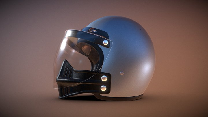Jim Jimbo Goose Helmet Mad Max 1979 3D Model