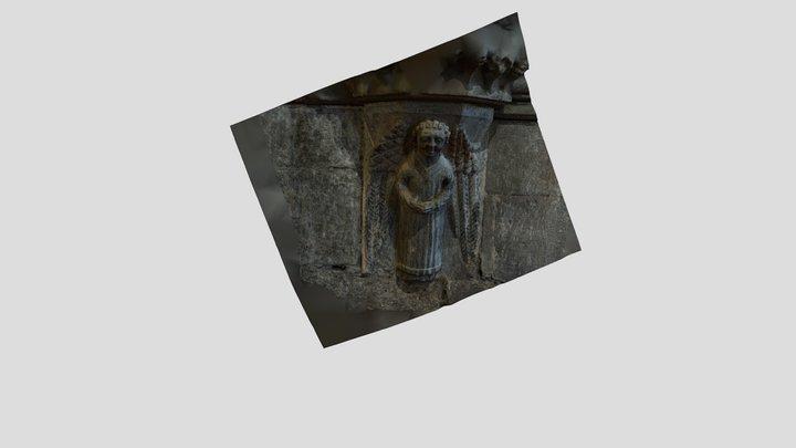 Angel - Top Of Column 3D Model