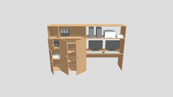 vezetői szekrény 3D Model