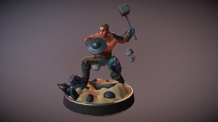 Von statue 3D Model