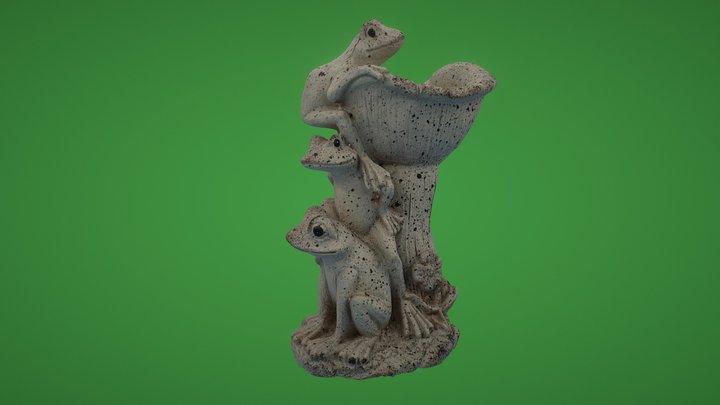 Frogs 3D Model