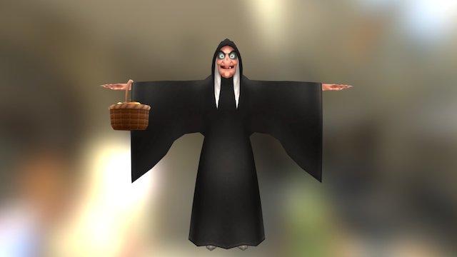 Kingdom Hearts - The Evil Queen Hag 3D Model