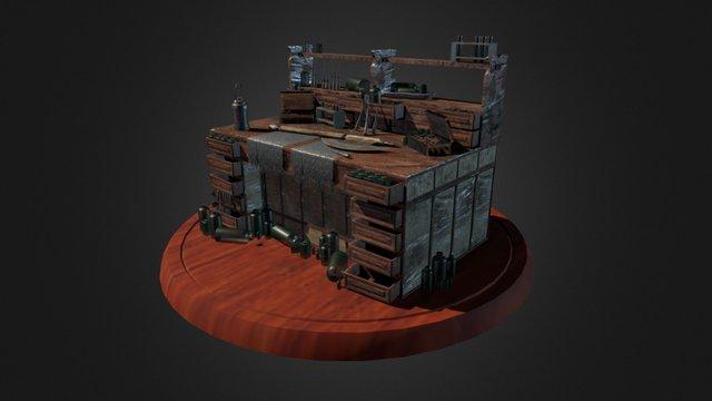 Worktable - Bloodborne (2016) 3D Model