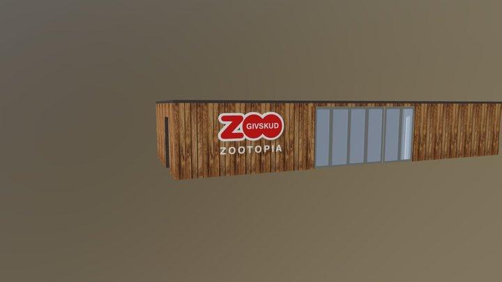 Givskud Zootopia 3D Model