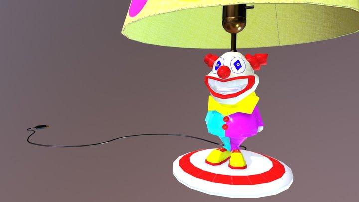 Clown Lamp 3D Model