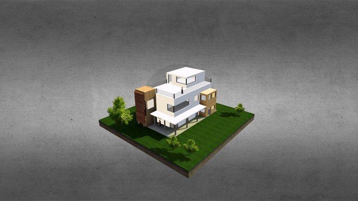 maison 3D Model