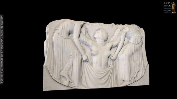 Ludovisi Throne 3D Model