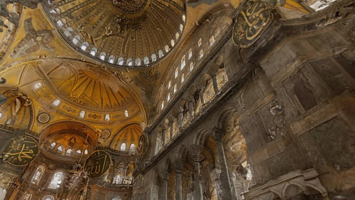 Hagia Sophia / Ayasofya - Istanbul, Turkey 3D Model